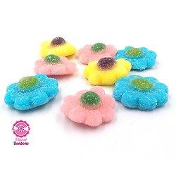 Fleur multicolore sucrée
