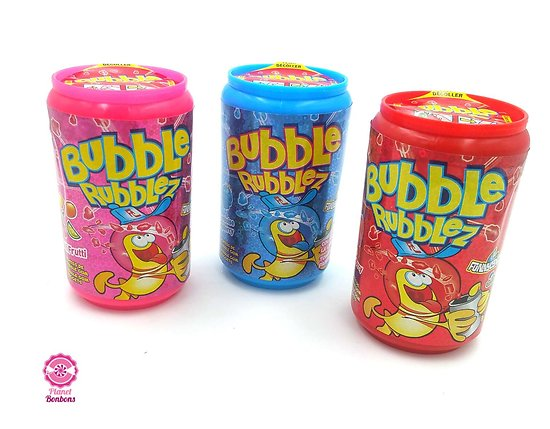Bubble rubblez 60g - lot de 3
