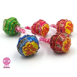 Chupa Chups fruits - Lot de 10