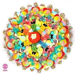 Gâteau de bonbons arc en ciel 320mm