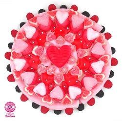 Gâteau de bonbons Romantique 320mm