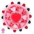 Gâteau de bonbons Romantique 220mm
