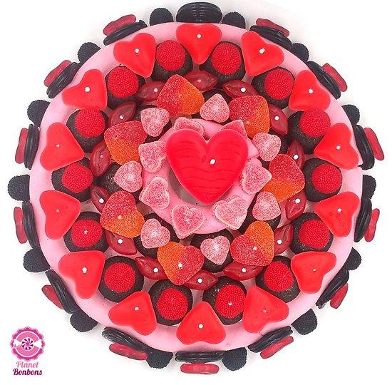 Maxi gâteau de bonbons Passion 320mm