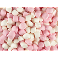 Mini chamallows blanc et rose