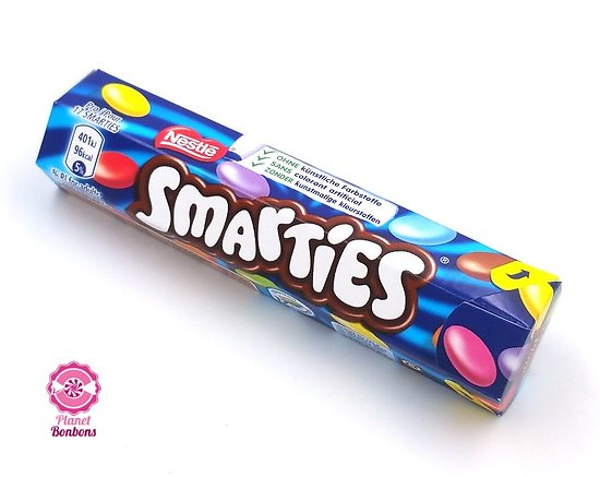 Tube Smarties 38g