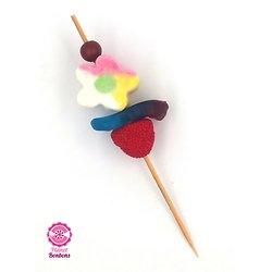 Brochette à bonbons Cocktail Fleur