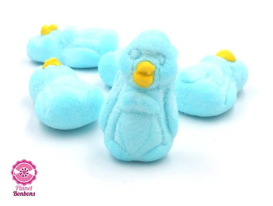 Guimauve Pingouin Bleu
