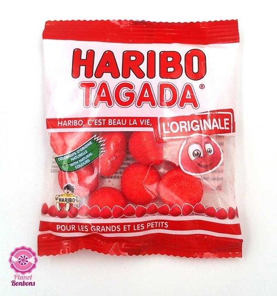 Mini sachet Fraise Tagada Haribo 30g