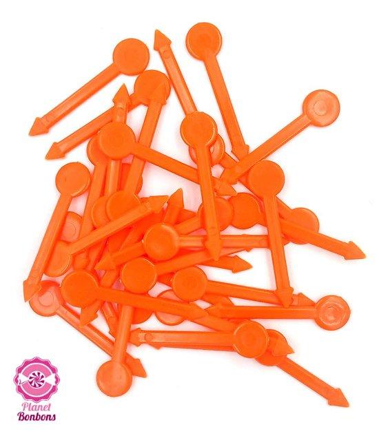 Pic à bonbons Orange petit modèle- sachet de 125