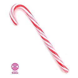Candy cane Rouge-Blanc 12g