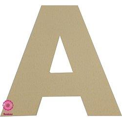 Support à bonbons Lettre A