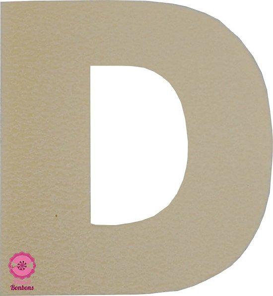 Support à bonbons Lettre D