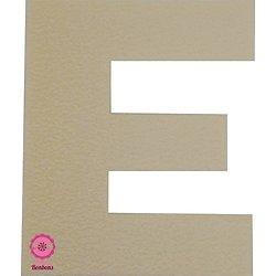 Support à bonbons Lettre E