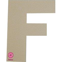 Support à bonbons Lettre F