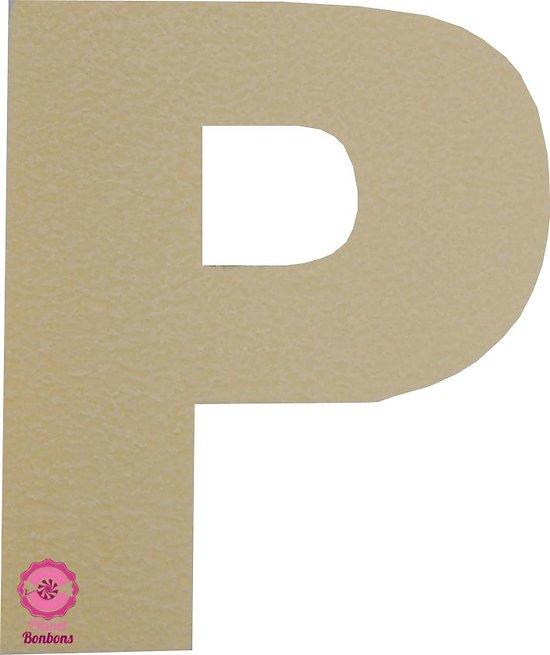 Support à bonbons Lettre P