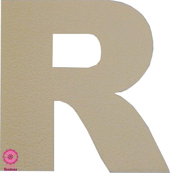 Support à bonbons Lettre R