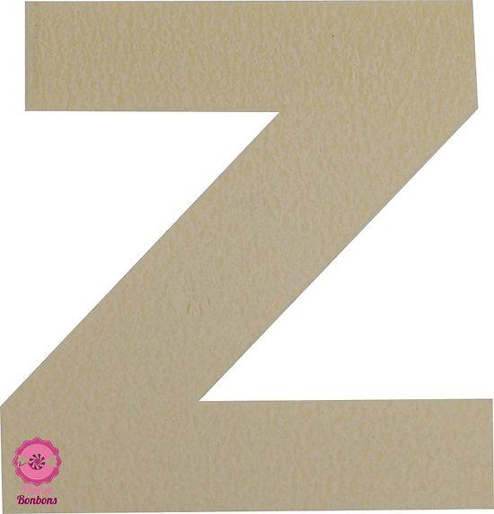 Support à bonbons Lettre Z