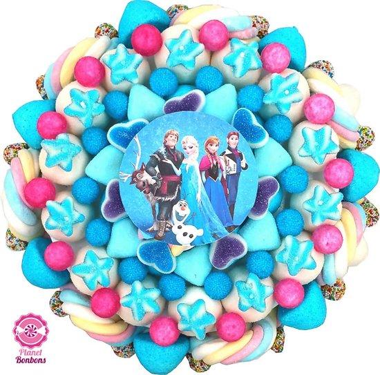Gâteau de bonbons Reine des neiges 320mm
