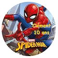 Disque azyme Spider-Man personnalisable