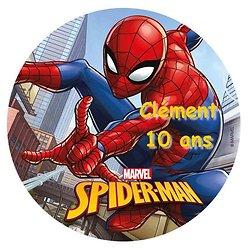 Disque azyme Spider-Man