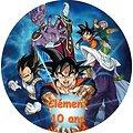 Disque azyme Dragon Ball personnalisable