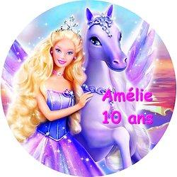 Disque azyme Barbie