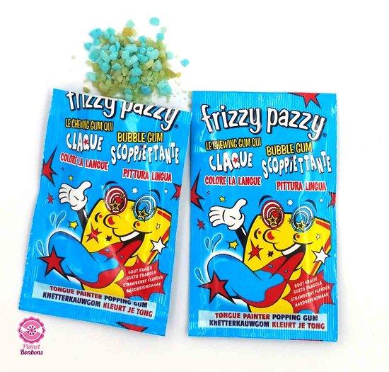 Frizzy Pazzy fraise tache langue
