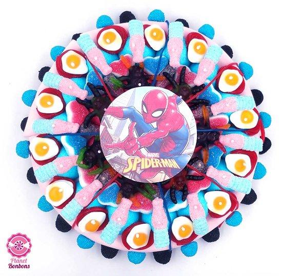 Gâteau de bonbons Spiderman 320mm
