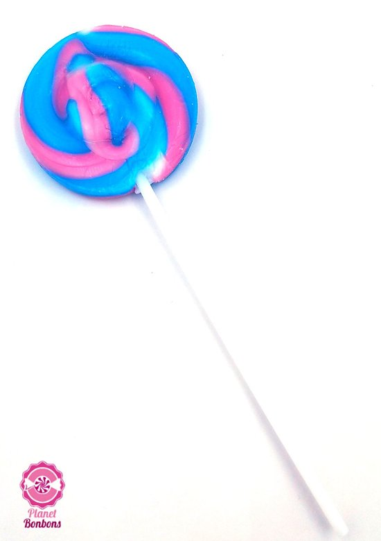 Sucette mini spirale Bubble gum 12g