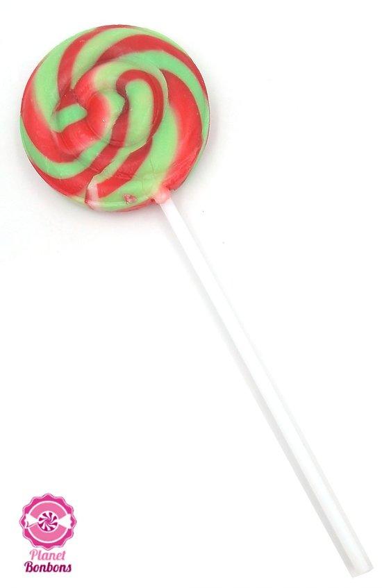 Sucette mini spirale pastèque12g