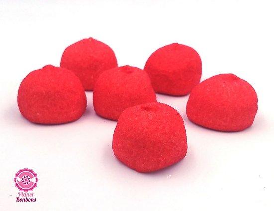 Balle de golf fraise rouge
