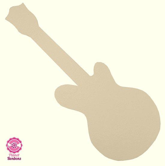 Support à bonbons Guitare