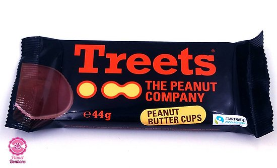 Treets peanut butter cups 44g