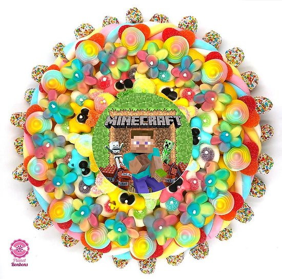 Gâteau de bonbons Minecraft 320mm
