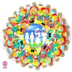 Gâteau de bonbons personalisable 320mm