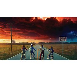 Plaque Azyme Stanger Things