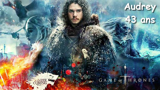 Plaque Azyme Game of Thrones