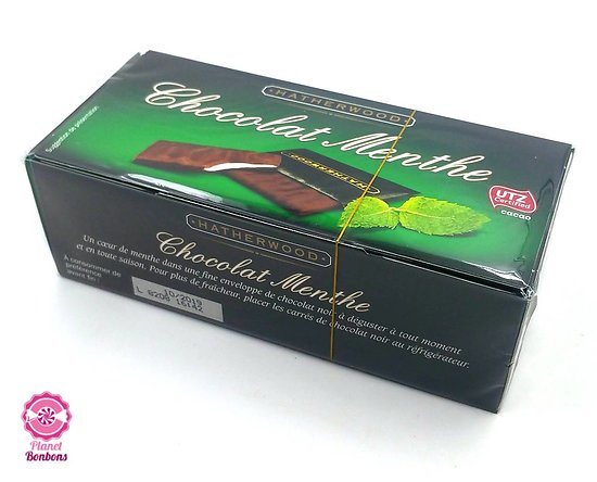 Boite chocolat Menthe 200g