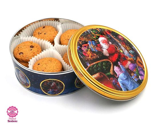 Boite Métal Biscuit Noël 150g