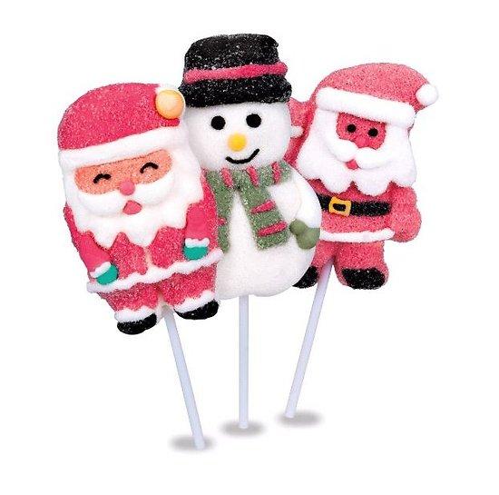 Sucette guimauve Noël