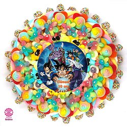 Gâteau de bonbons Dragon Ball 320mm