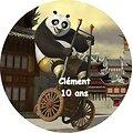 Disque azyme Kung Fu Panda