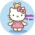 Disque azyme Hello Kitty