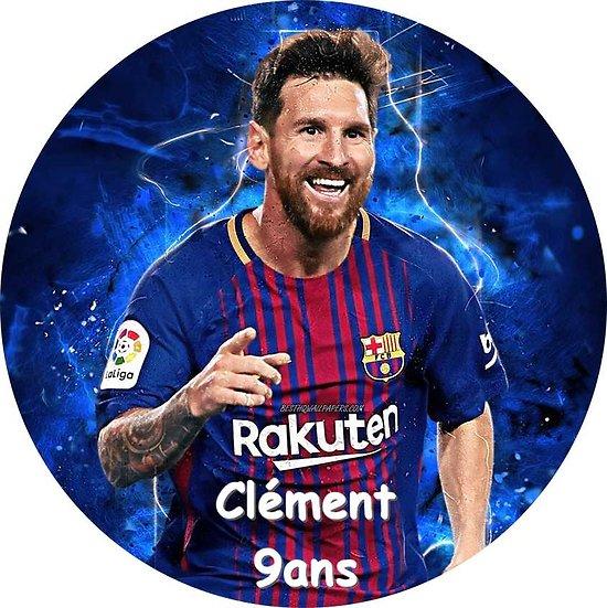 Disque azyme Messi