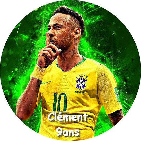 Disque azyme Neymar