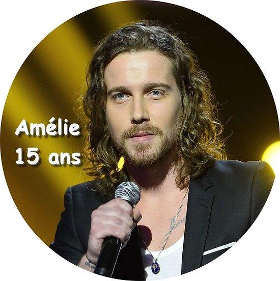 Disque azyme Julien Doré