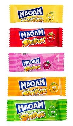 Maoam Stripes - Lot de 10