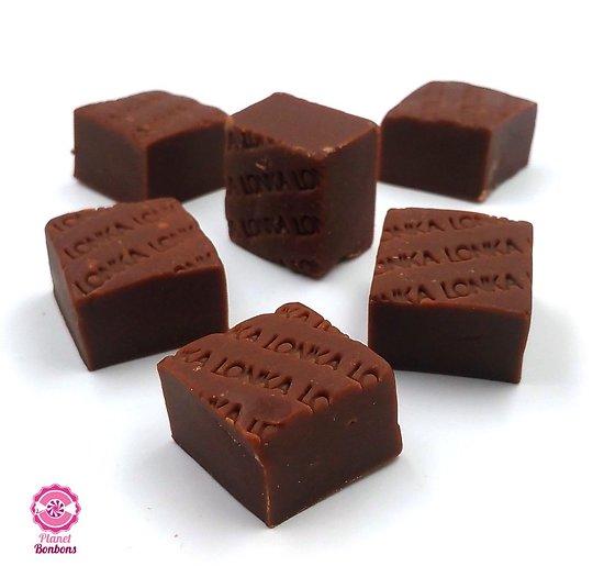 Fudge caramel au chocolat