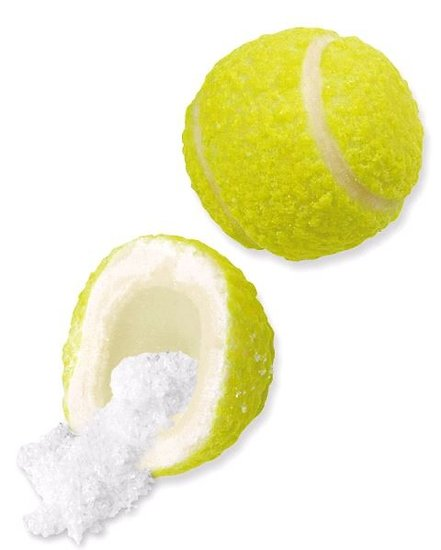 Balle de tennis XXL - Lot de 10