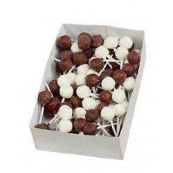Sucette Lollies Chocolat Mix - lot de 10